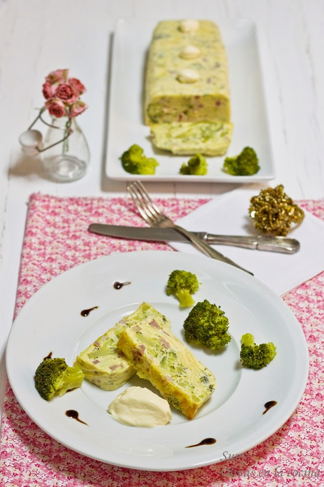 Pastel de patatas, brócoli y bacon para Degustabox