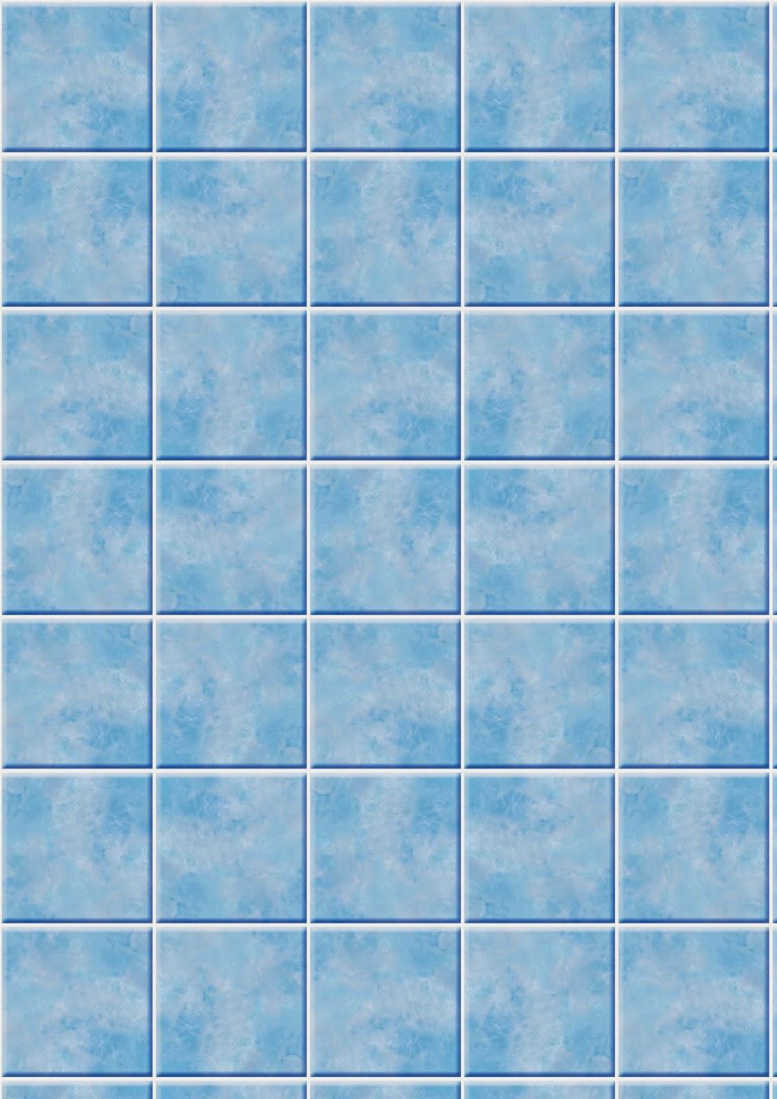 Todo sobre mi barbie imprimibles azulejos for Azulejo azul