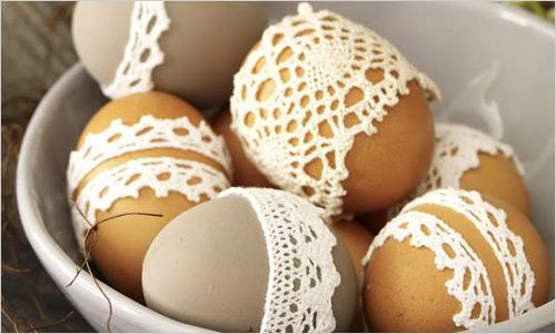Оригинальные пасхальные яйца.