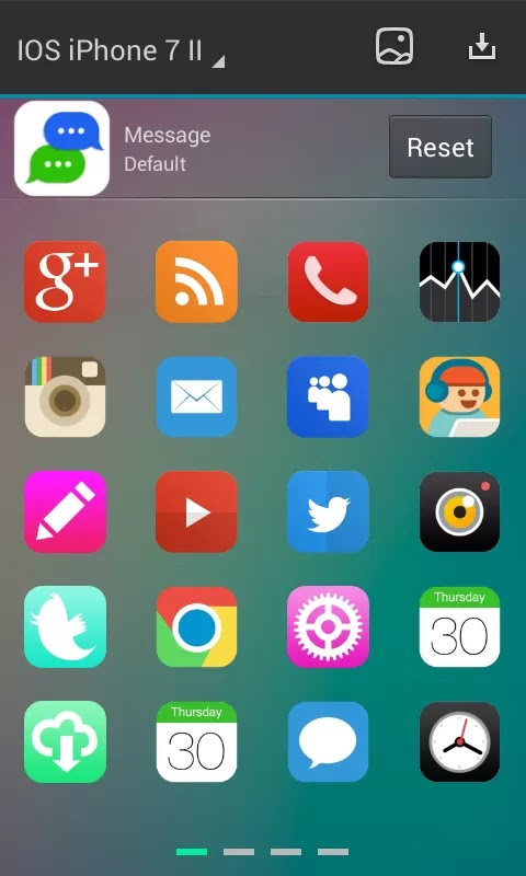 iphone themes for android free download apk