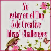 top 5 de Creative Ideas`challenges Agosto 2013