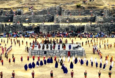 Fotografía de la Fiesta del Inti Raymi