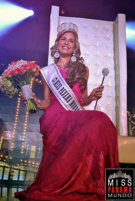 Miss Panama World Mundo 2014 winner Raiza Patricia Erlenbaugh Soriano
