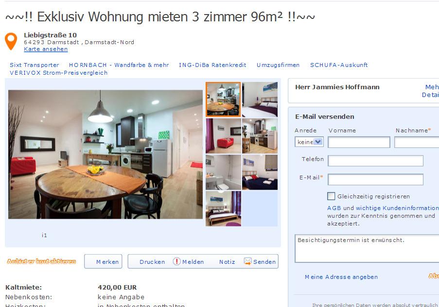 Wohnungsbetrug2013 informationen ber wohnungsbetrug for 3 zimmer wohnung darmstadt