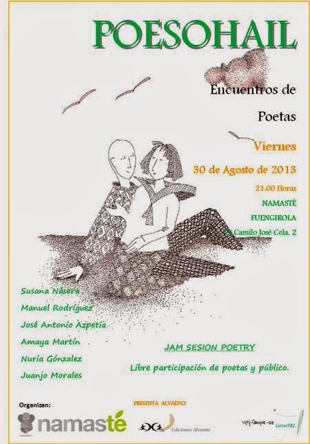 Azpeitia y Amaya en Poesohail de Fuengirola