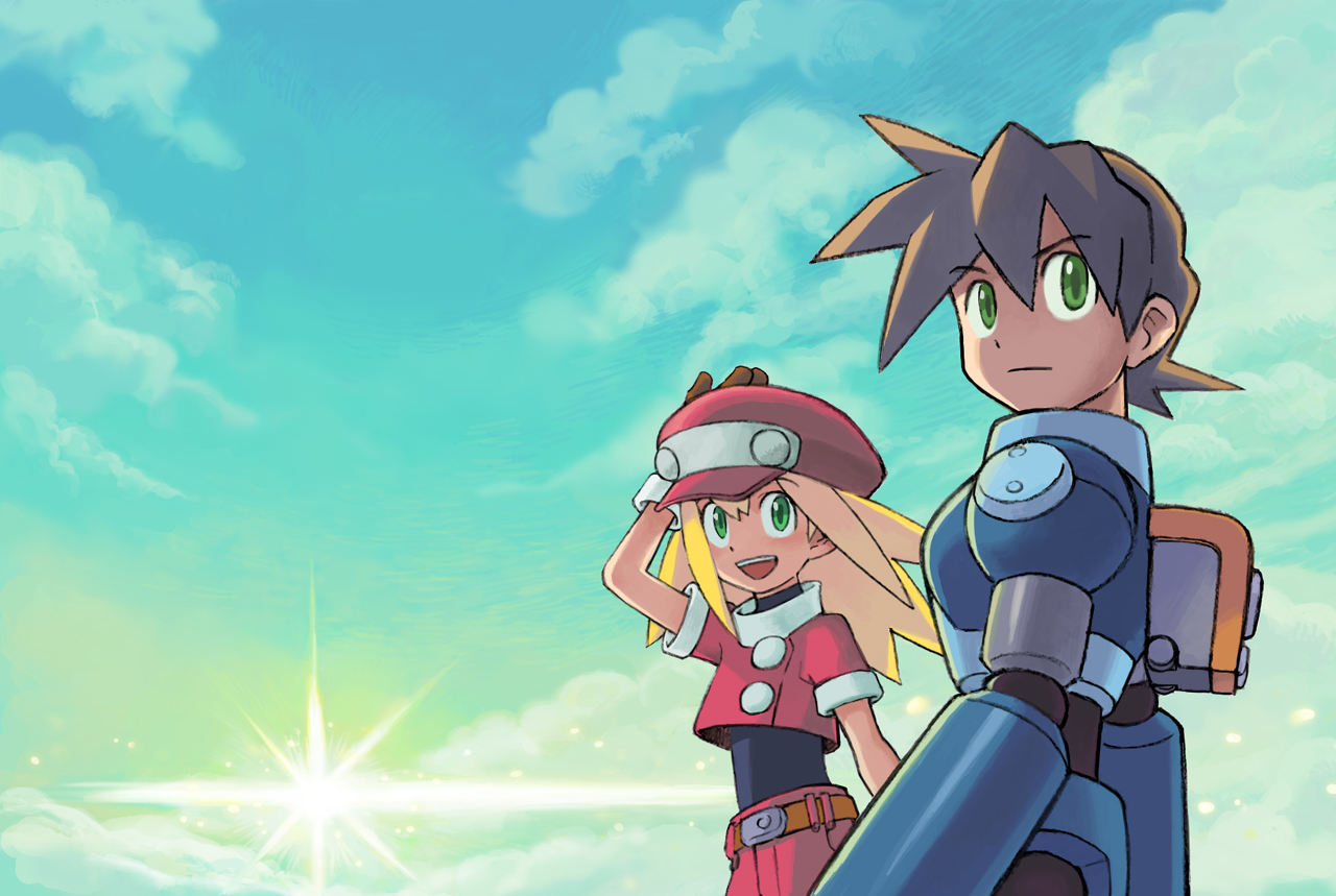 Megaman HD & Widescreen Wallpaper 0.52478434381673