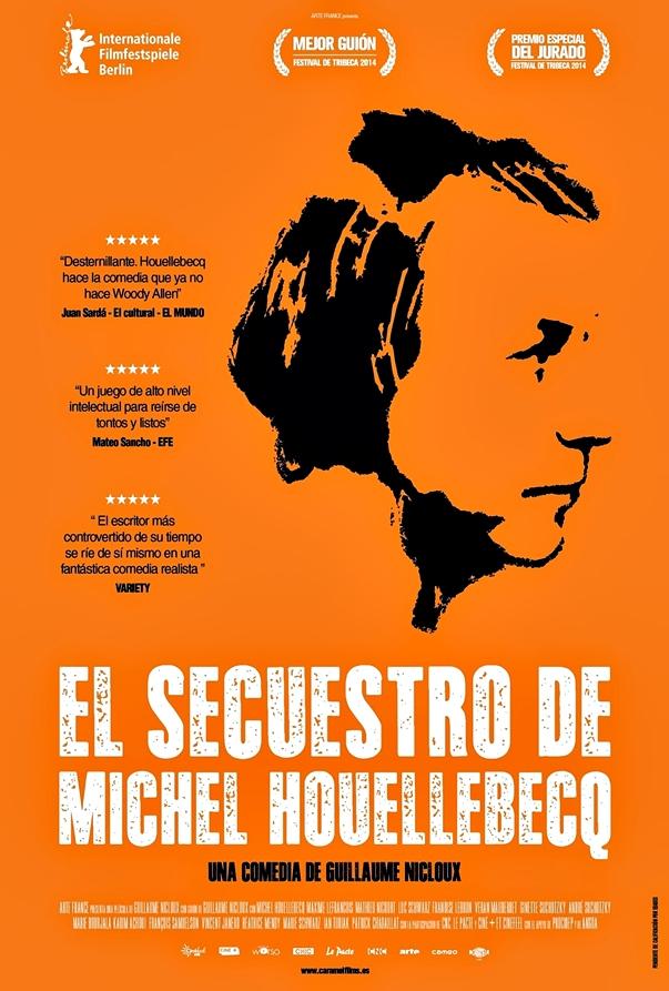 Póster El secuestro de Michel Houllebecq
