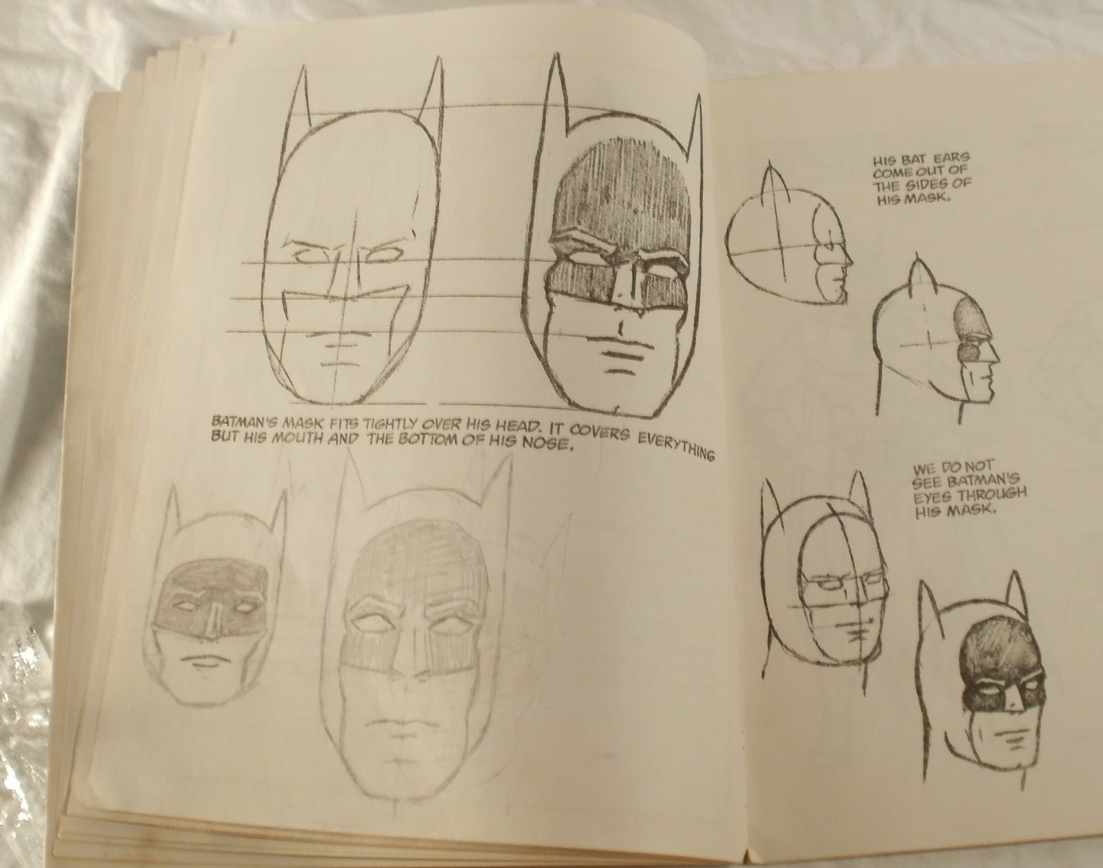 how to draw superheroes step by step
