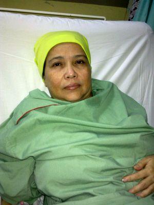 Rosnah Mohd Noor Di HKL, Patah Tulang Paha