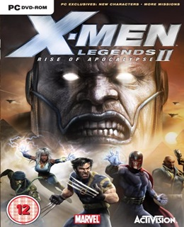 X-Men Legends 2: Rise Of Apocalypse PC Box