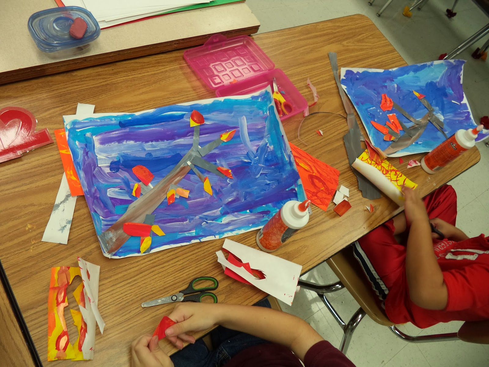 Art with mr e eric carle inspired collage nvjuhfo Choice Image