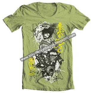 baju-pakaian-t-shirt-dewasa-cantik-menarik