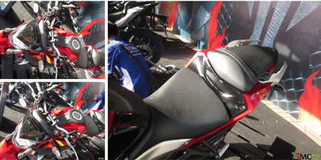gambar Yamaha MT-25 warna merah