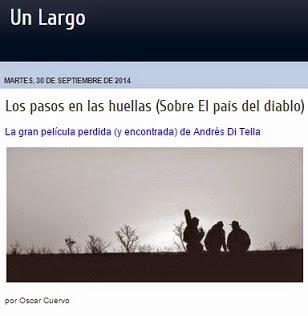 EL PAÍS DEL DIABLO, ONLINE