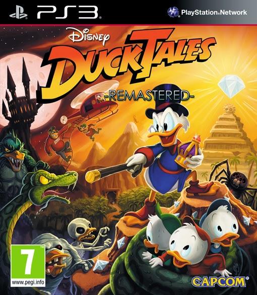 Ducktales Remastered edición disco en PlayStation 3