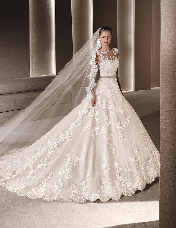 Vestido de novia hermosos 2016