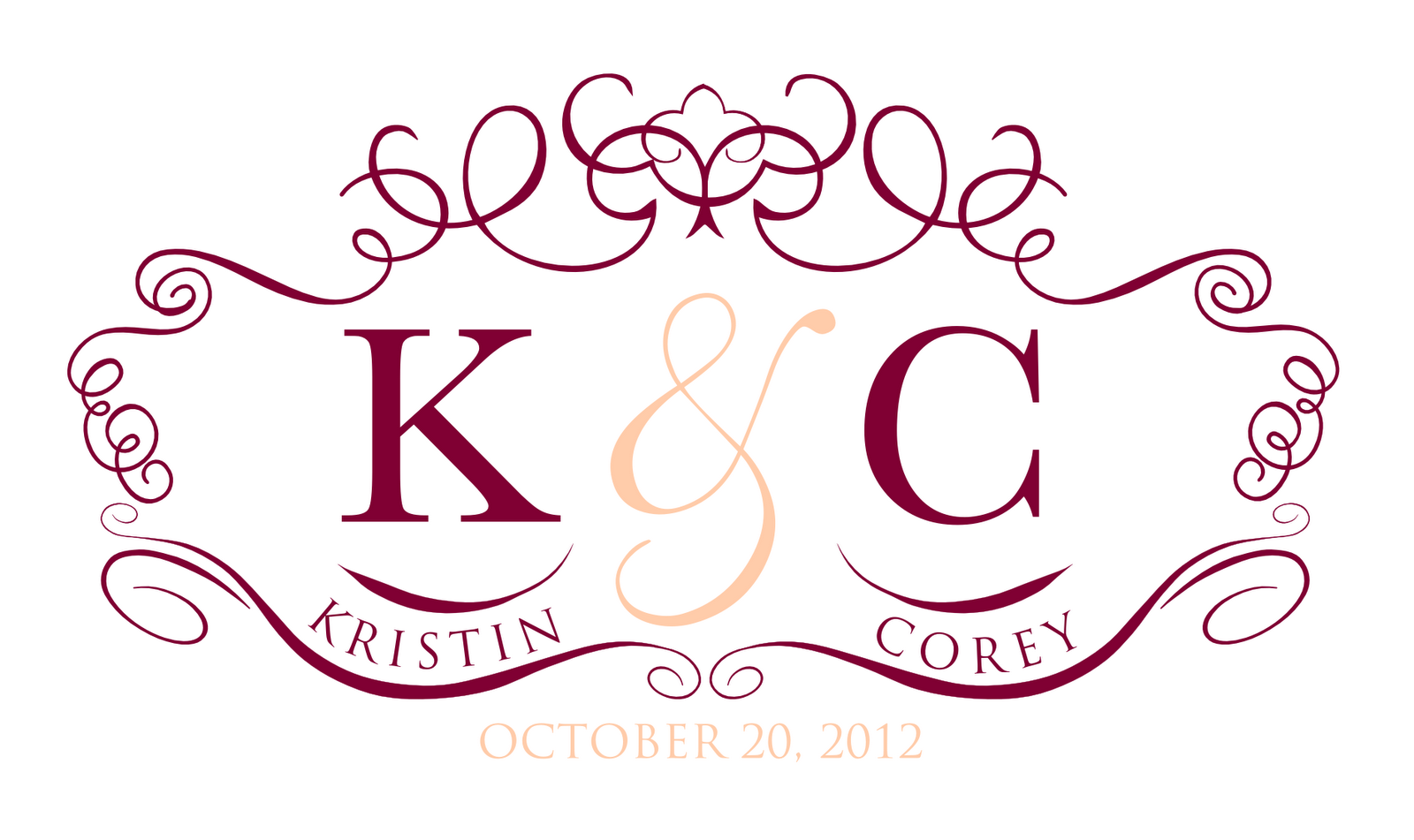 Signatures by Sarah: Wedding Stationery for Kristin