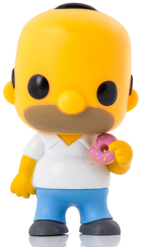 Pop Tv Homer Simpson Vinyl Figure Hook Of The Day