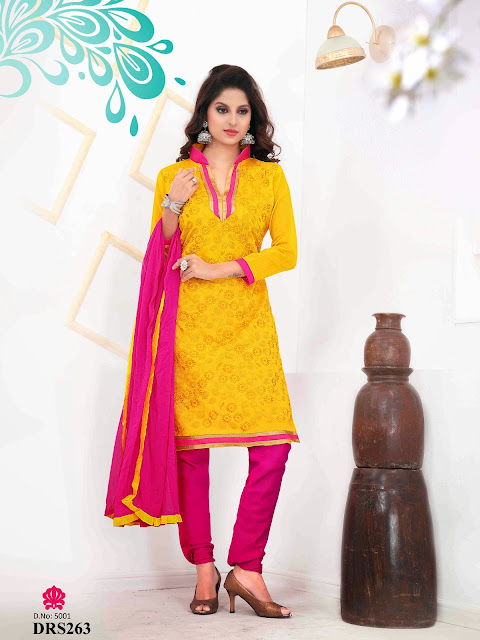 Exclusive Chanderi Cotton Dress Material – Wholesaler