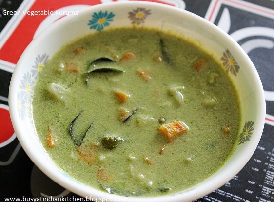 green vegetable kuruma