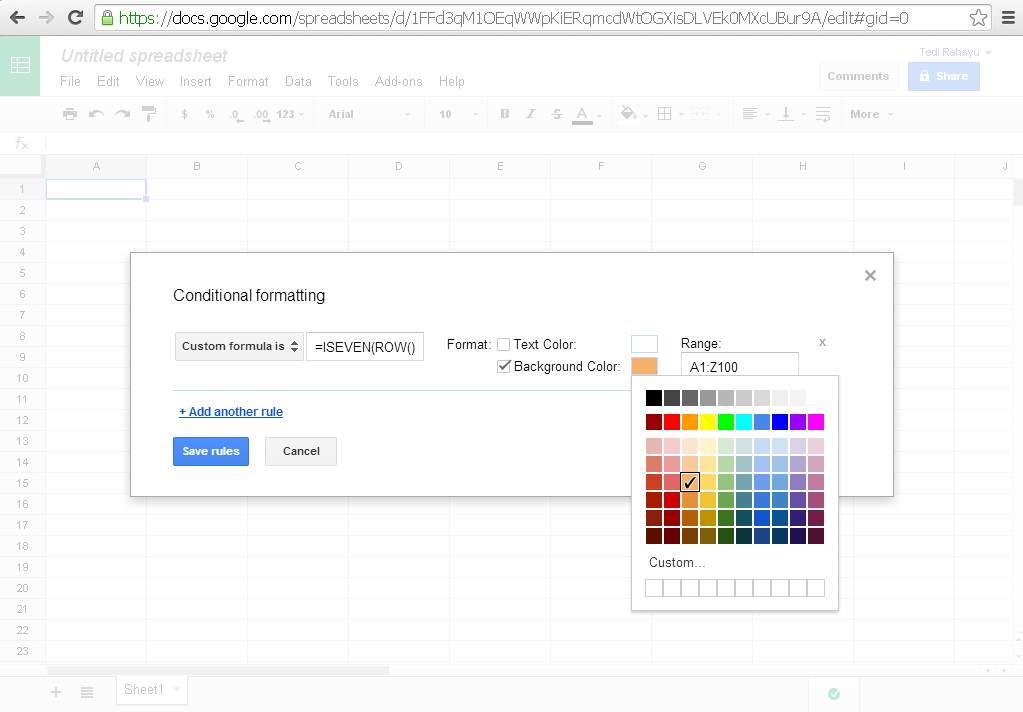 how to add comment google sheet