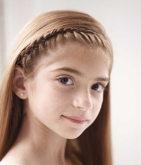 Amazing We Love Half Up Hairstyles For Teens And Girls Of All Ages, And This One Is Just So