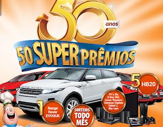Promoção Copacol 50 anos - 50 Super Prêmios!