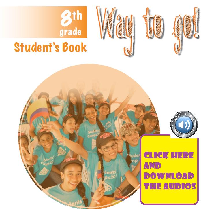 AUDIOS STUDENT BOOK 8th GRADE