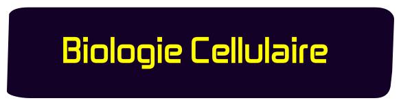 Biologie Cellulaire svtu s1