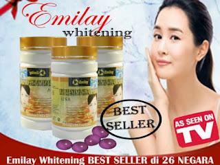 Suplemen Kecantikan Emilay Whitening Untuk Memutihkan Kulit