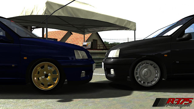 Mod rFactor Clio Williams vrs clio 1.6