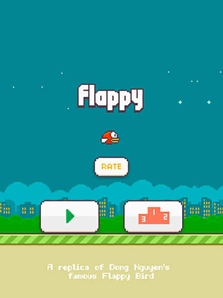 Flappy - A Replica Of The Original Bird Game Free App Game By Denislav Kochev