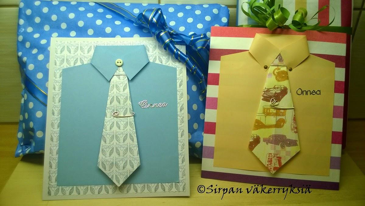 kravatti -kortti isälle