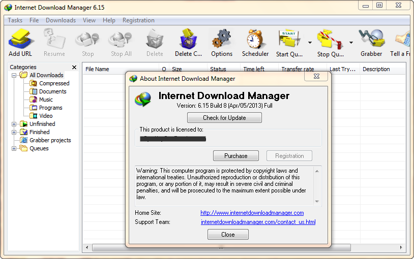 internet  manager with key full version