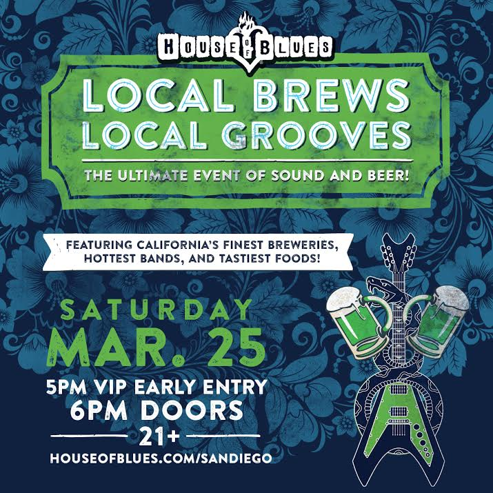 Don't Miss Local Brews Local Grooves Beer & Music Festival - March 25!