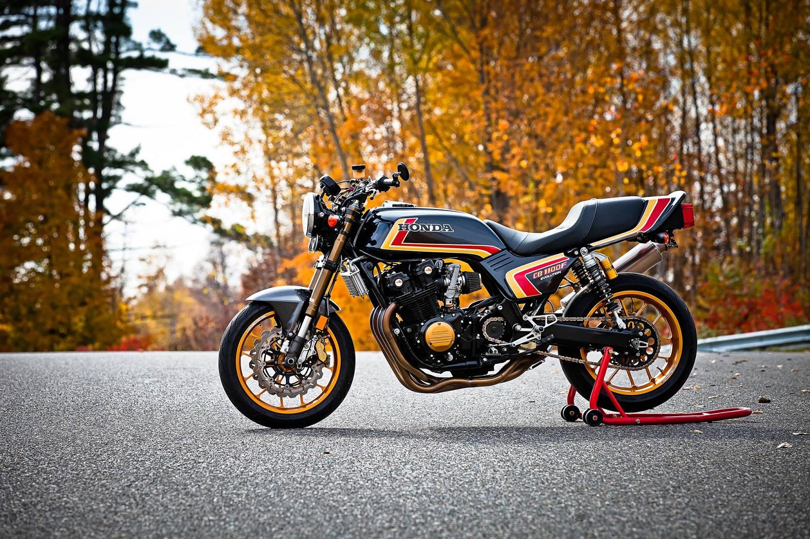 Racing Caf U00e8  Honda Cb 1100f  U0026quot Evolution U0026quot  1123cc By Darren Begg