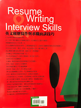 My book: Resume Writing and Interview Skills