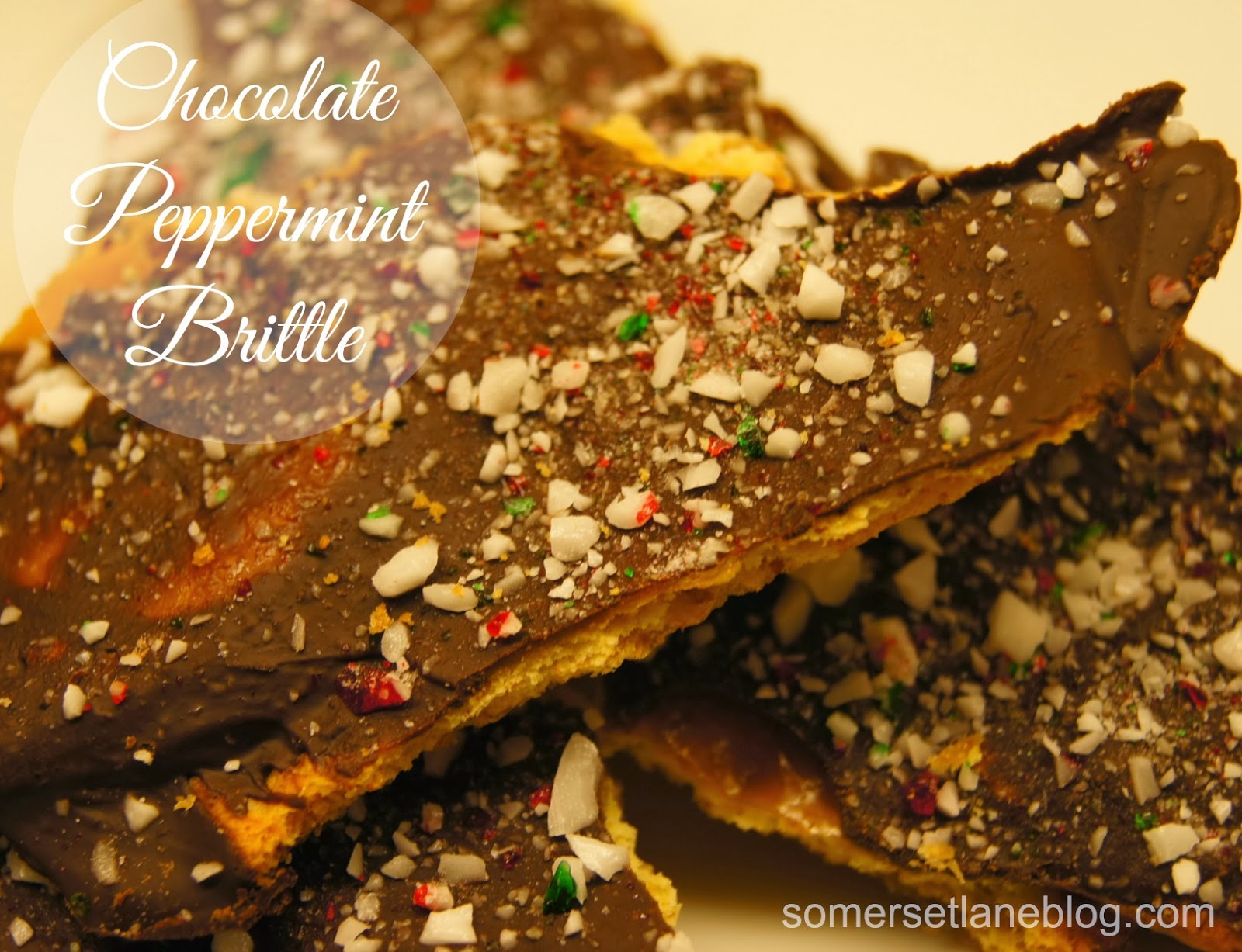 Somerset Lane: Chocolate Peppermint Brittle