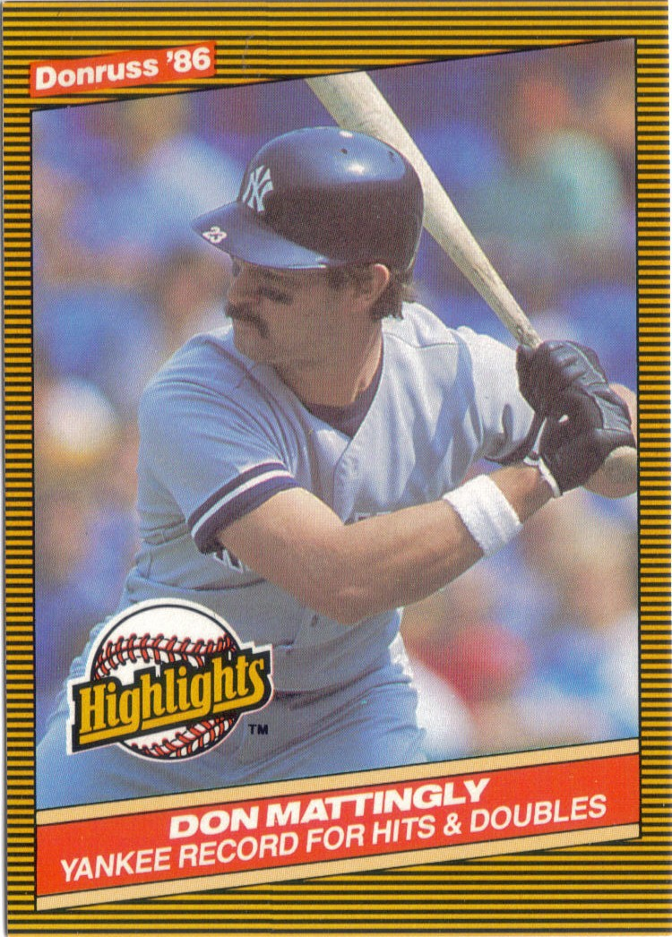 Foul Bunt Thoughts On 1986 Donruss Highlights