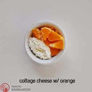 Cottage Cheese W/ Orange