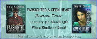{Review+Giveaway} Open Heart by Emlyn Chand