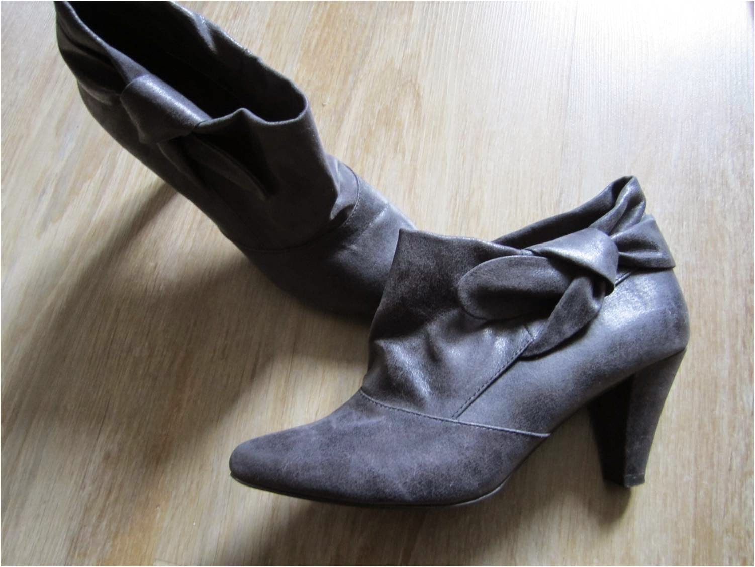 Pull and Bear low boots talons taille 37 à vendre tictail vide-dressing