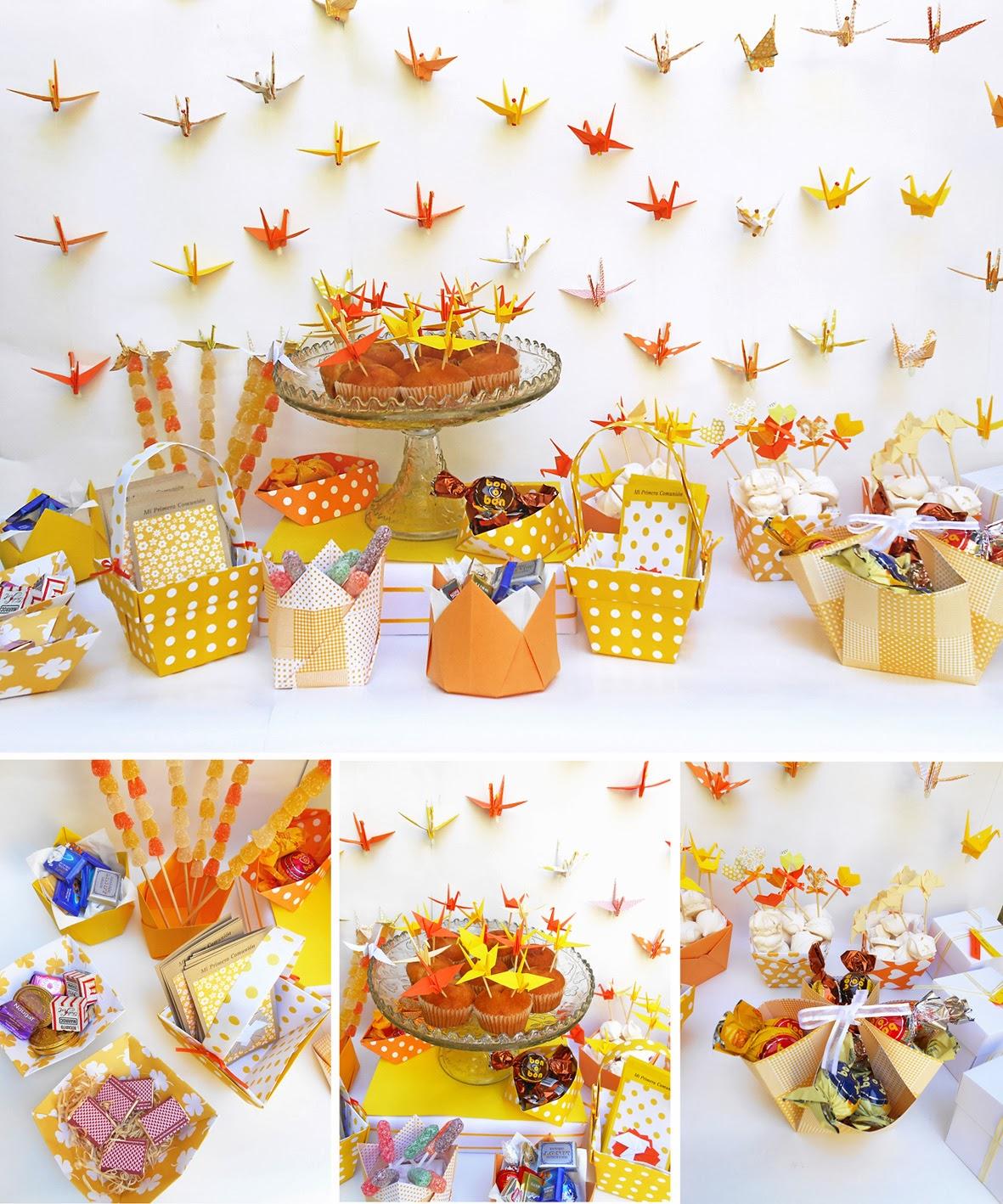 Origami Decoracion De Mesa ~ Linda escolha das cores  Papel na decora??o  Pinterest