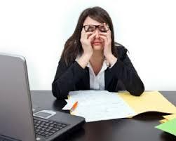 5 Tips Menghindari Mata Lelah Di Depan Komputer