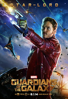 Star-lord poster for Guardians of the Galaxy
