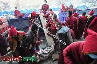 حرق جثث الموتى في الصين