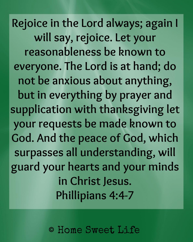 Philippians 4:4-7 graphic