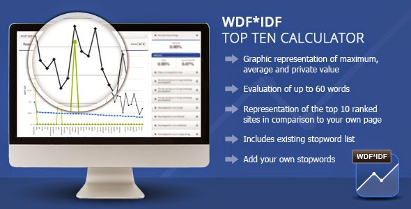WordPress WDF*IDF SEO Calculator V1.0.3 - Codecanyon