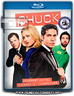 Chuck 4° Temporada Torrent - BluRay Rip 720p Dublado