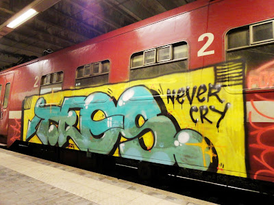 TEOS graffiti